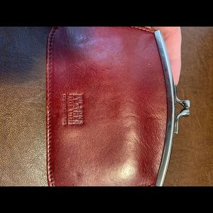 Wilson leather coin purse and card holder